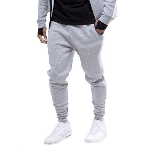 calça masculina moletom jogger slim fitness academia esporte