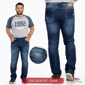 Calça Masculina Plus Size Slim Fit Biotipo Jeans