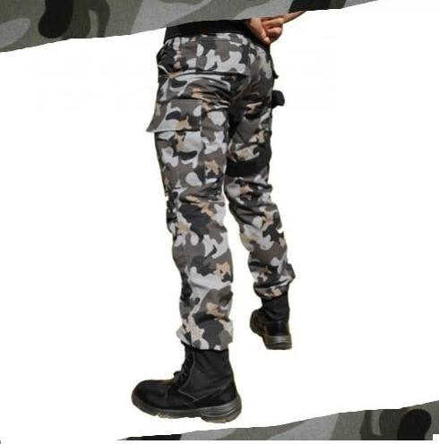 calça masculina ripstop camuflado urbano