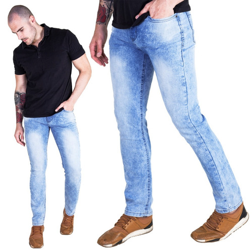 calça masculina skinny jeans ou sarja fashion premium