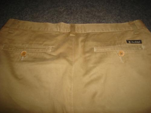 calça masculina social ,marrom tam 42-  mr. kitsch