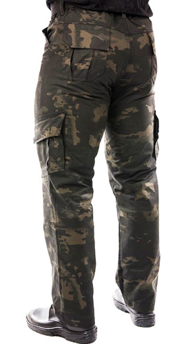 calça masculina tática bravo airsoft esportiva lockdown