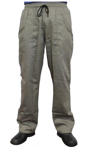 calça masculino  em brim uniforme profissional  (kit 12 uni)