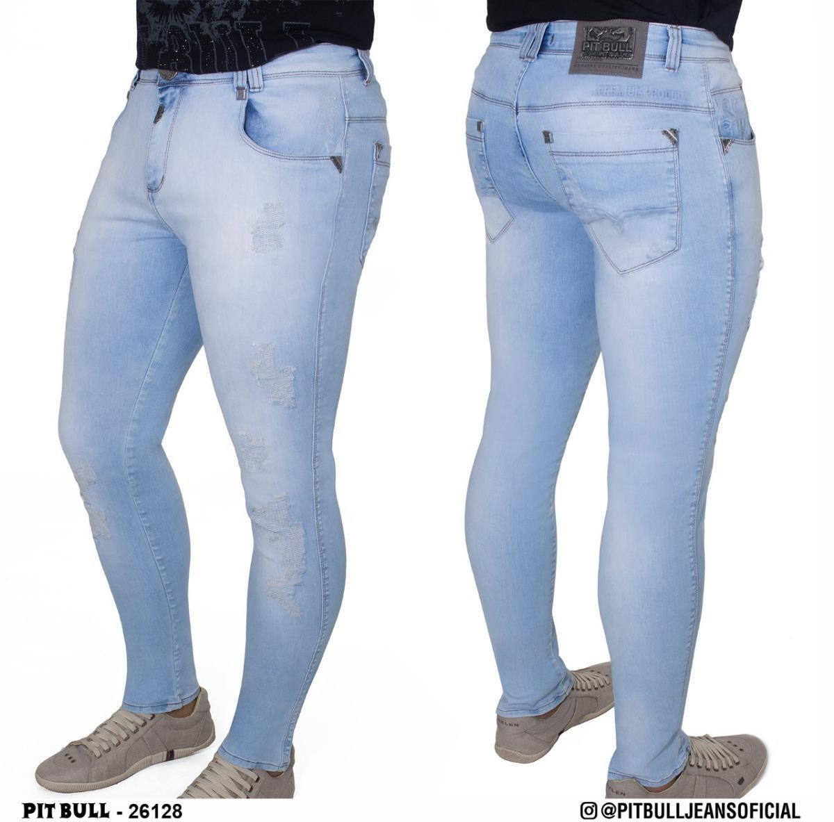 a612ab161 Calça Masculino Super Slim Pit Bull Jeans Ref 26128 - R$ 269,00 em ...