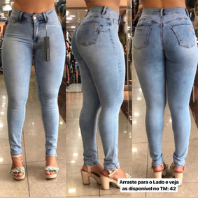 8d1c264ac Calça Jeans Feminina Miller - Calças no Mercado Livre Brasil