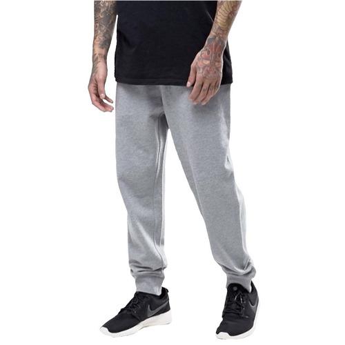 calça moletinho moleton saruel skinny masculina slim jogger