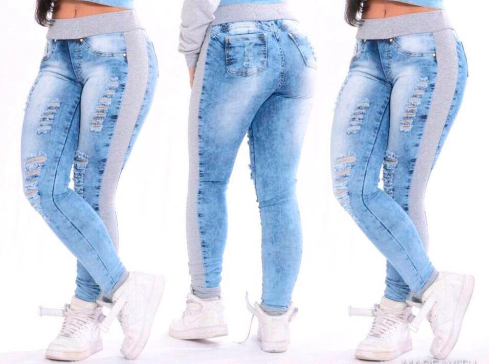 Resultado de imagem para calça jeans com moletom
