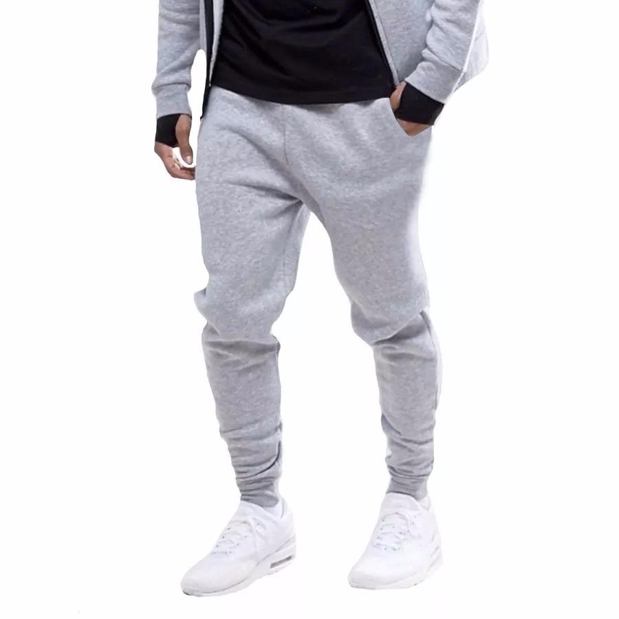 04385801a calça moletom jogger moleton masculina inverno academia slim. Carregando  zoom.