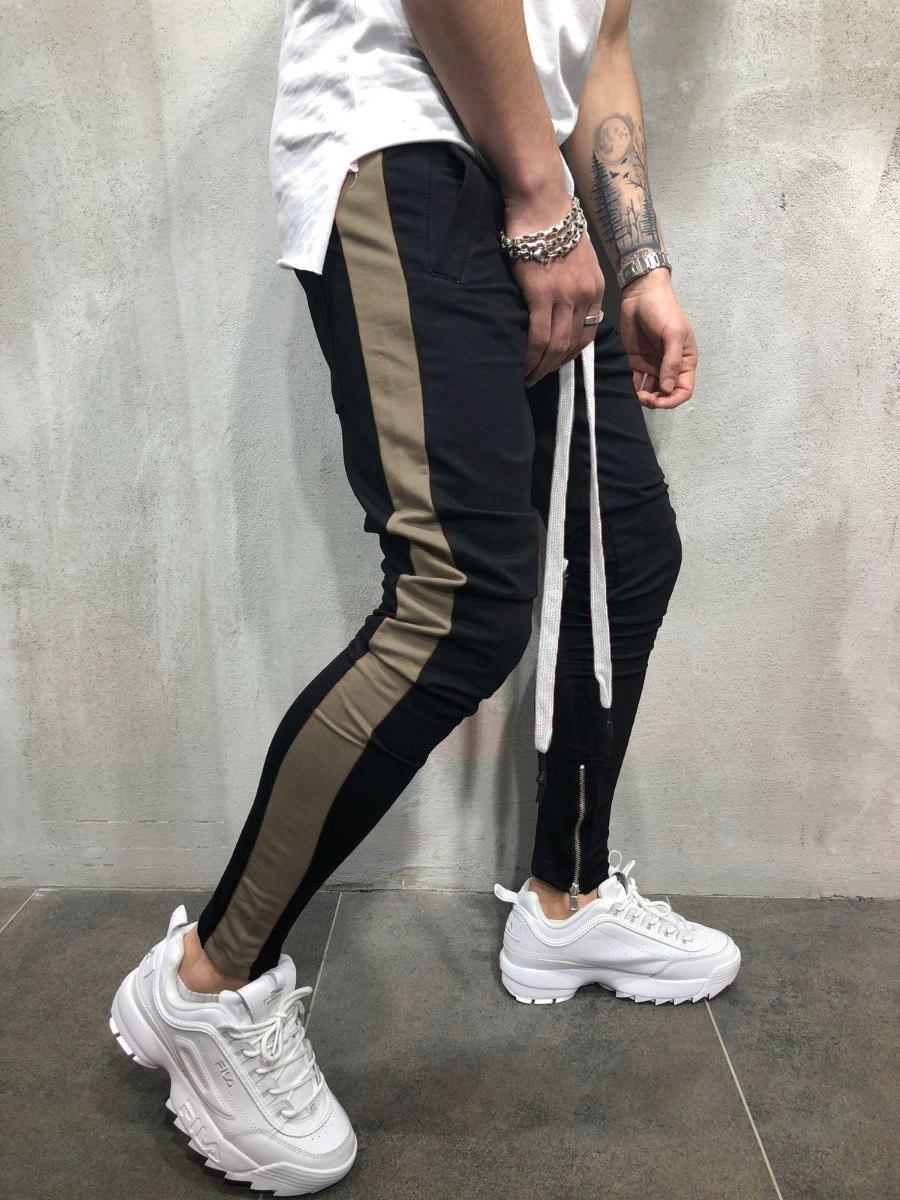 fef646d97 calça moletom masculina hip hop com listras joggerpant swag. Carregando zoom .
