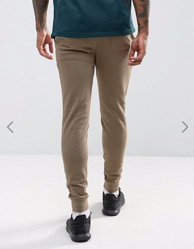 calça moletom moleton super skynni swag jogger masculina top