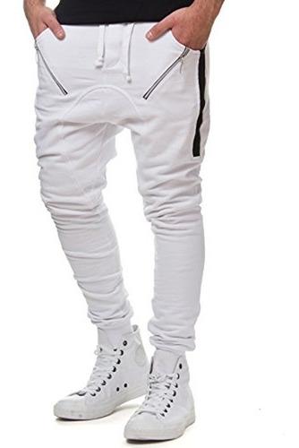 calça moletom saruel skinny swag masculina vcstilo v91