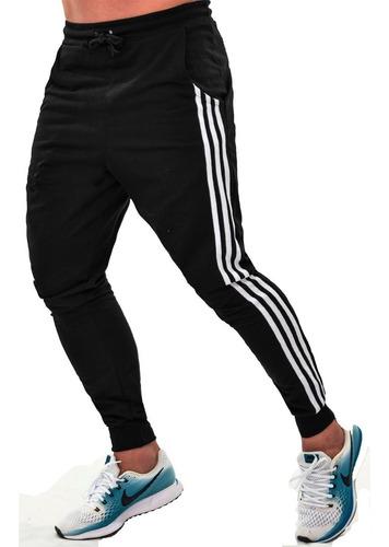 calça moletom skinny jogger masculina moletinho academia
