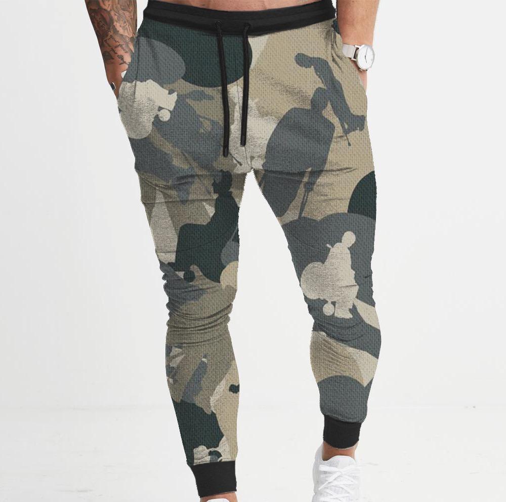 8722fb677 calça moletom skinny masculina camuflado swag e academia. Carregando zoom.