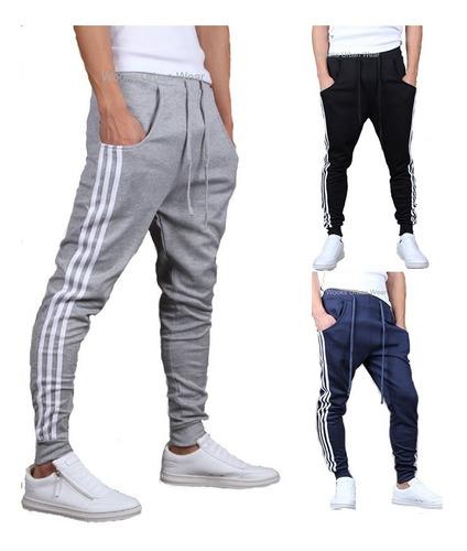 calça moletom skinny slim sport luxo - a pronta entrega