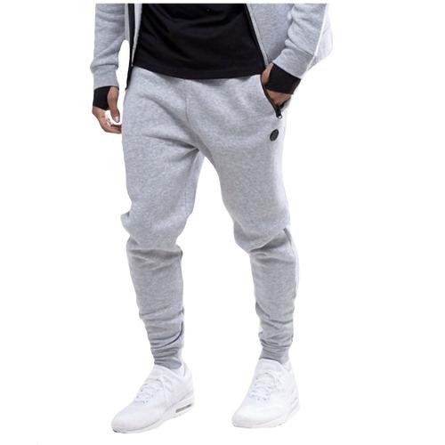calça moleton premium moletom masculina mescla skinny offert