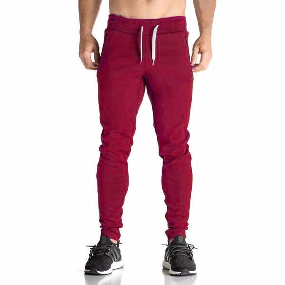 5949b3cbb calça moleton skinny slim masculina treino casual moletom. Carregando zoom.