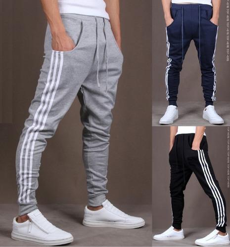 calça moleton skinny slim sport luxo - pronta entrega