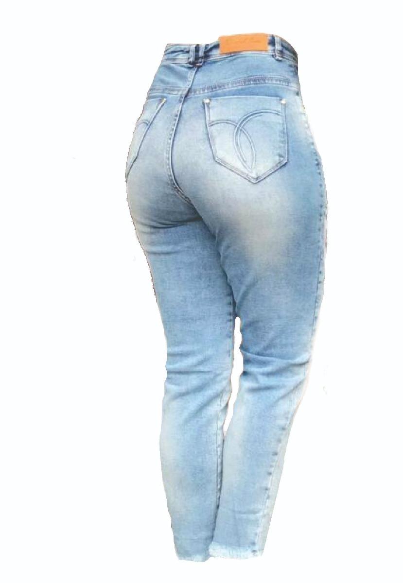 ba5a1472d calça mom jeans cintura alta lavagem destroyed frete grátis. Carregando zoom .