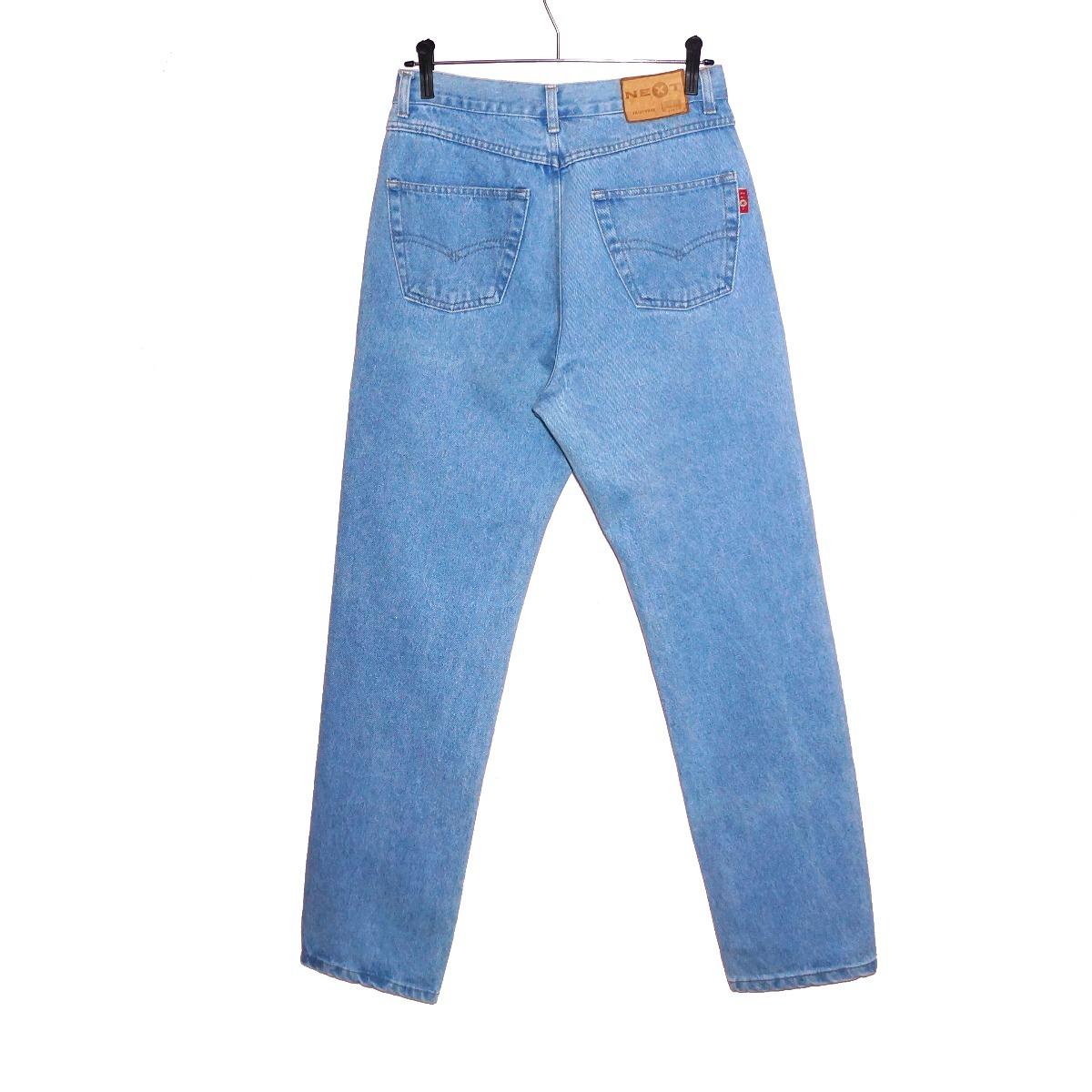 aa6adf7cb1 calça mom jeans clássica vintage clara cintura alta unisex. Carregando zoom.