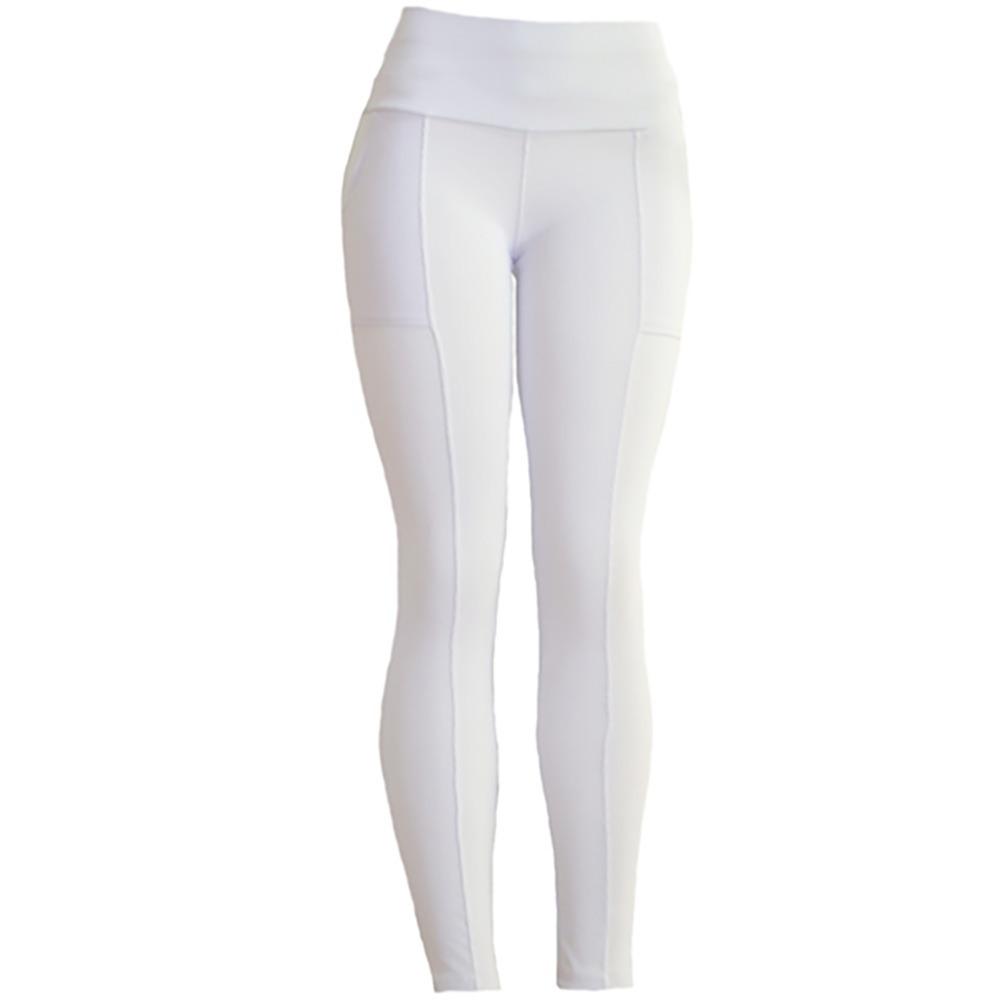 700fe51ad calça montaria leg poliamida feminina legging preta branca. Carregando zoom.