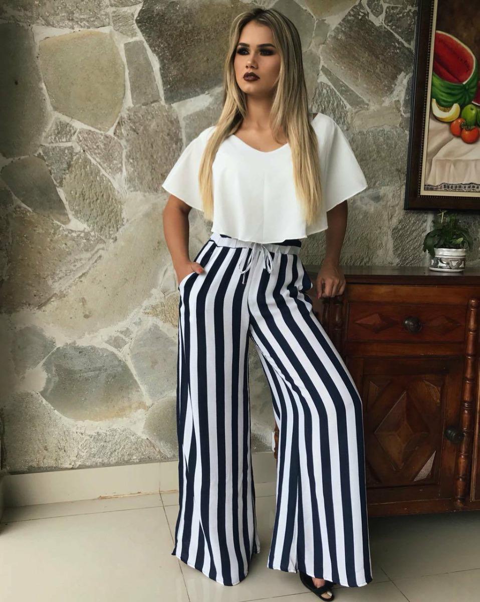 65255e763 Calça Pantalona Alfaiataria Feminina De Linho - R$ 169,90 em Mercado ...