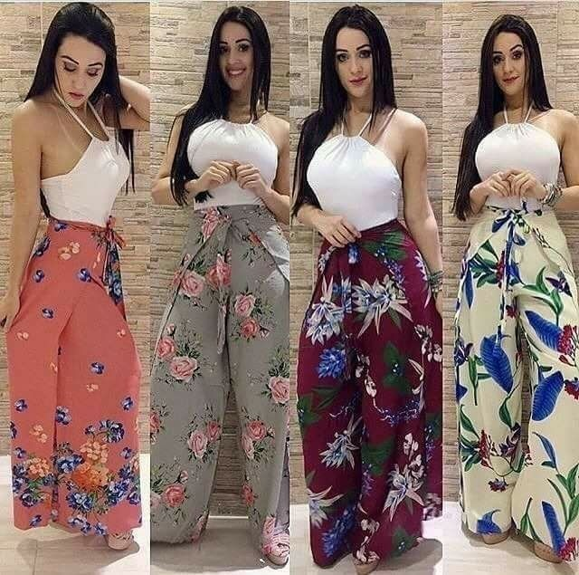 ddc2bac09 Calça Pantalona Envelope Varias Estampas - R$ 80,00 em Mercado Livre