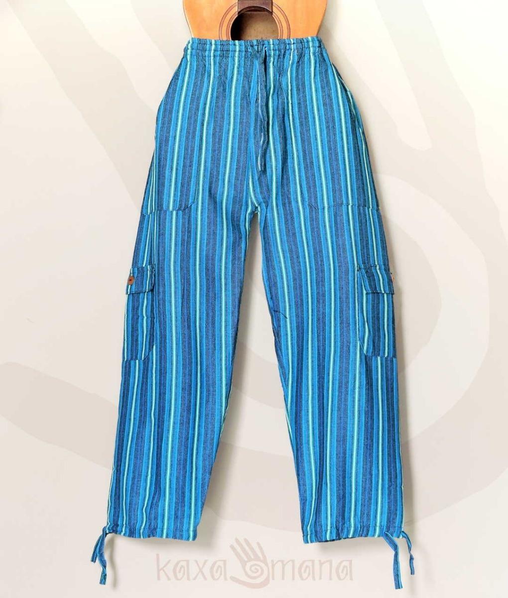 4c42209c05cf0e Calça Pantalona Peruana Hippie Moda Unissex