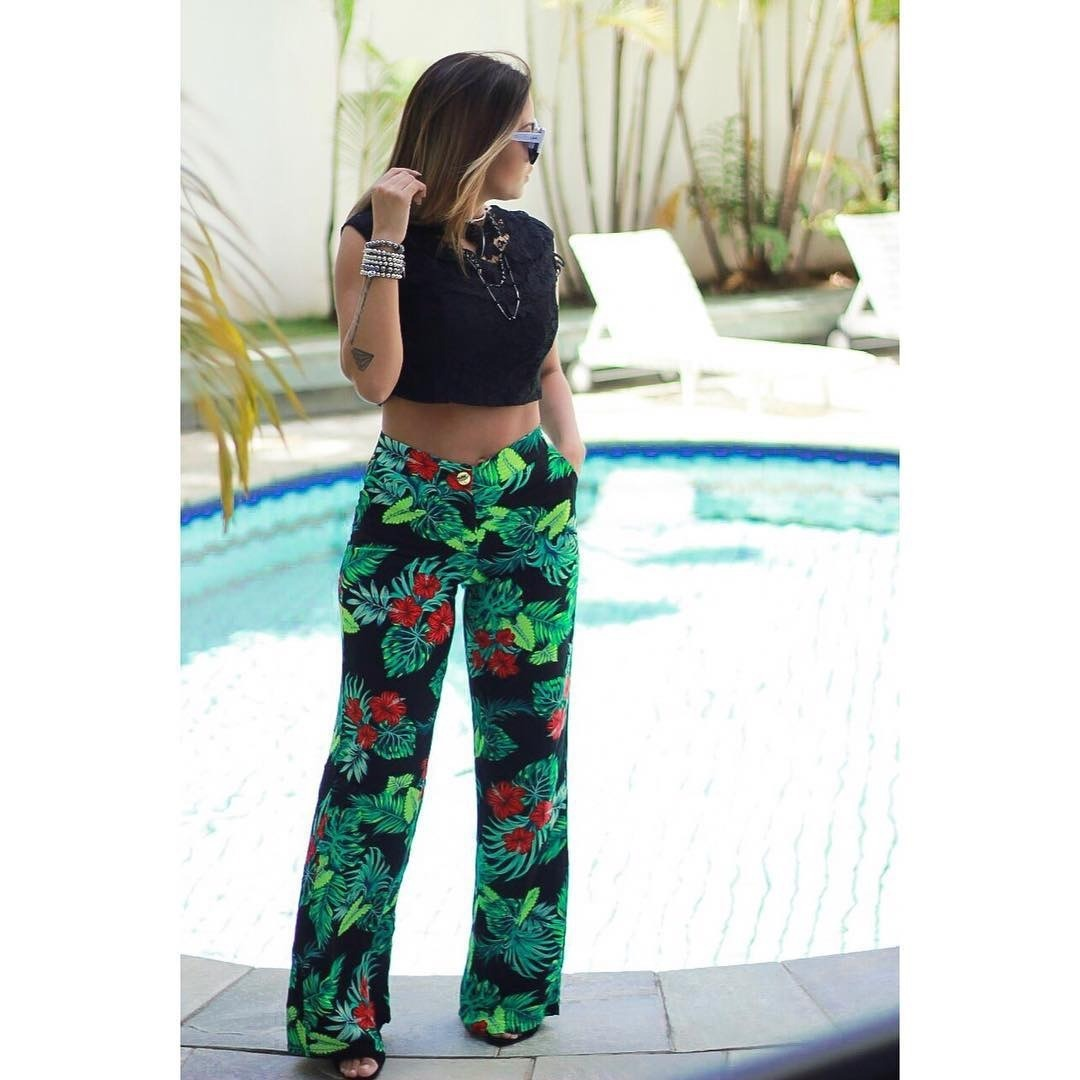5df96e325 calça pantalona viscose moda blogueira lançamento verão. Carregando zoom.