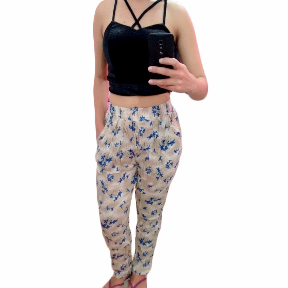 178176e5c calca pijama de viscose estampada importada ct011. Carregando zoom.
