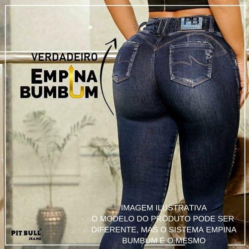 calça pitbull jeans pit bull jean empina bumbum 31322