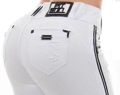 calça pitbull jeans pit bull original com bojo levanta bumbu