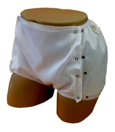 calça plastica aberta com botoes  adulto p / m / g / eg  nhc
