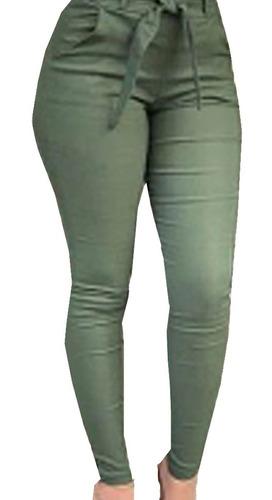 calça plus size clochard com laço amarrar confortável  - super oferta