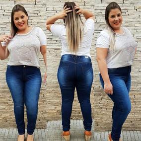 71d89da4c3964b Calça Plus Size Jeans Atacado 6 Peças 110 Cada Super Oferta
