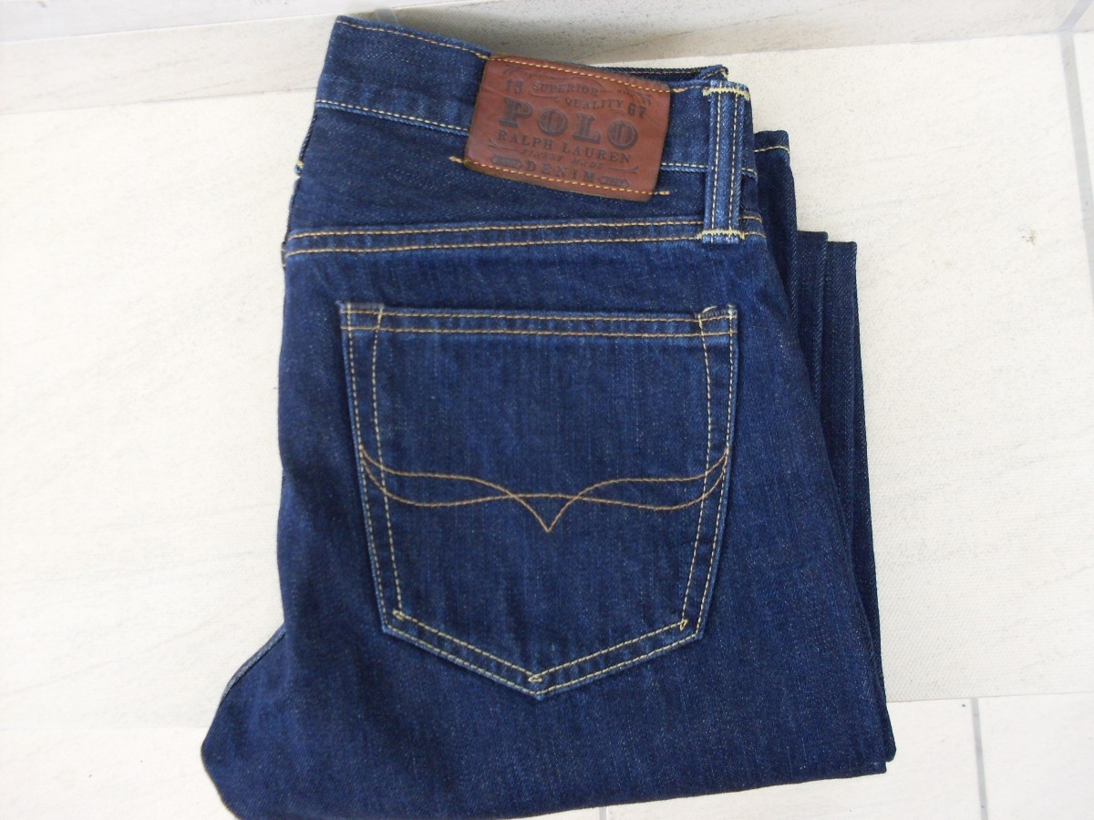 calça polo ralph lauren slim straight 018 jeans original. Carregando zoom. 6d633640102