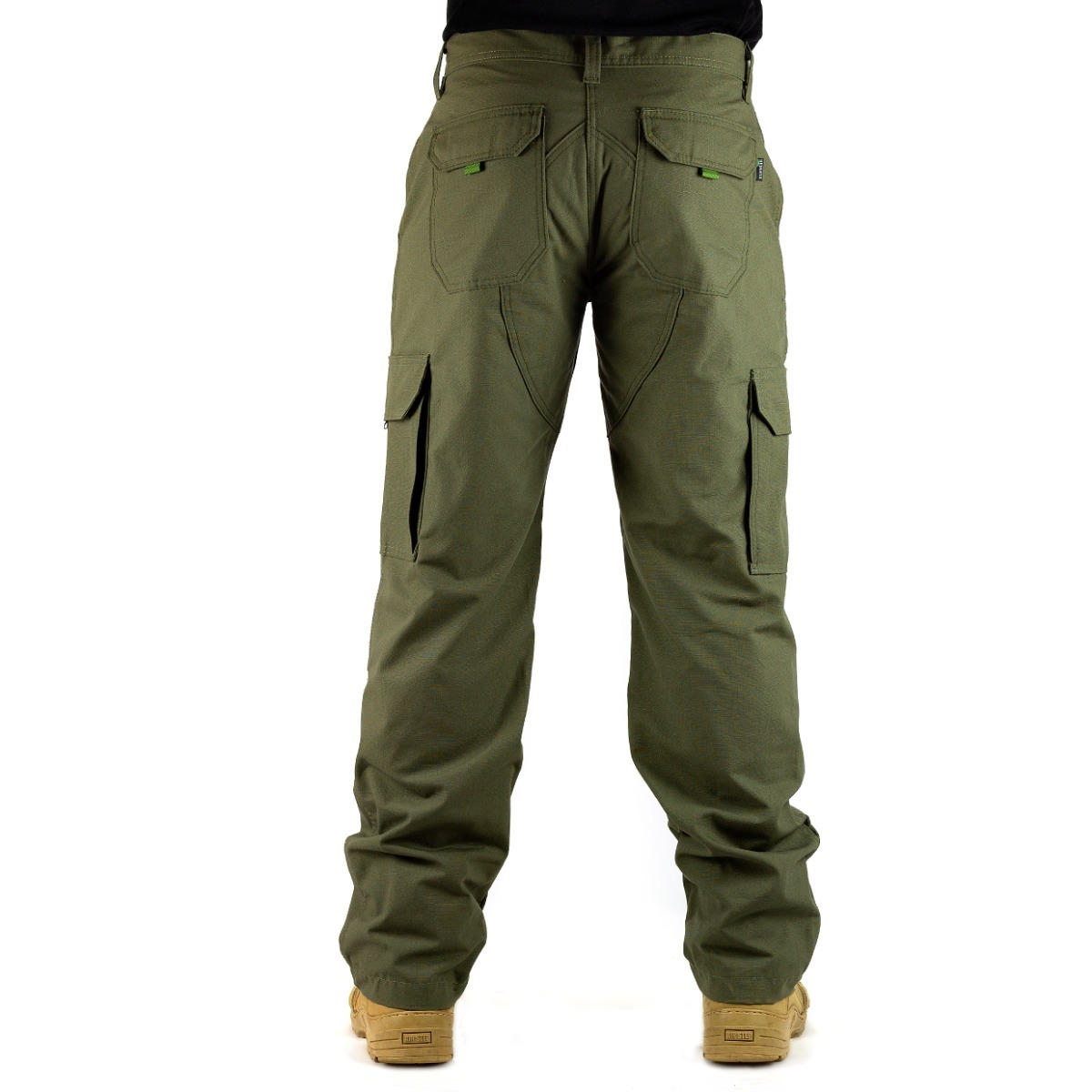 acddb0e8a calça poly rip stop resistente 6 bolsos verde preto caqui t. Carregando  zoom.