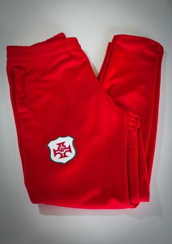 calça - portuguesa santista - vermelha - marca briosa