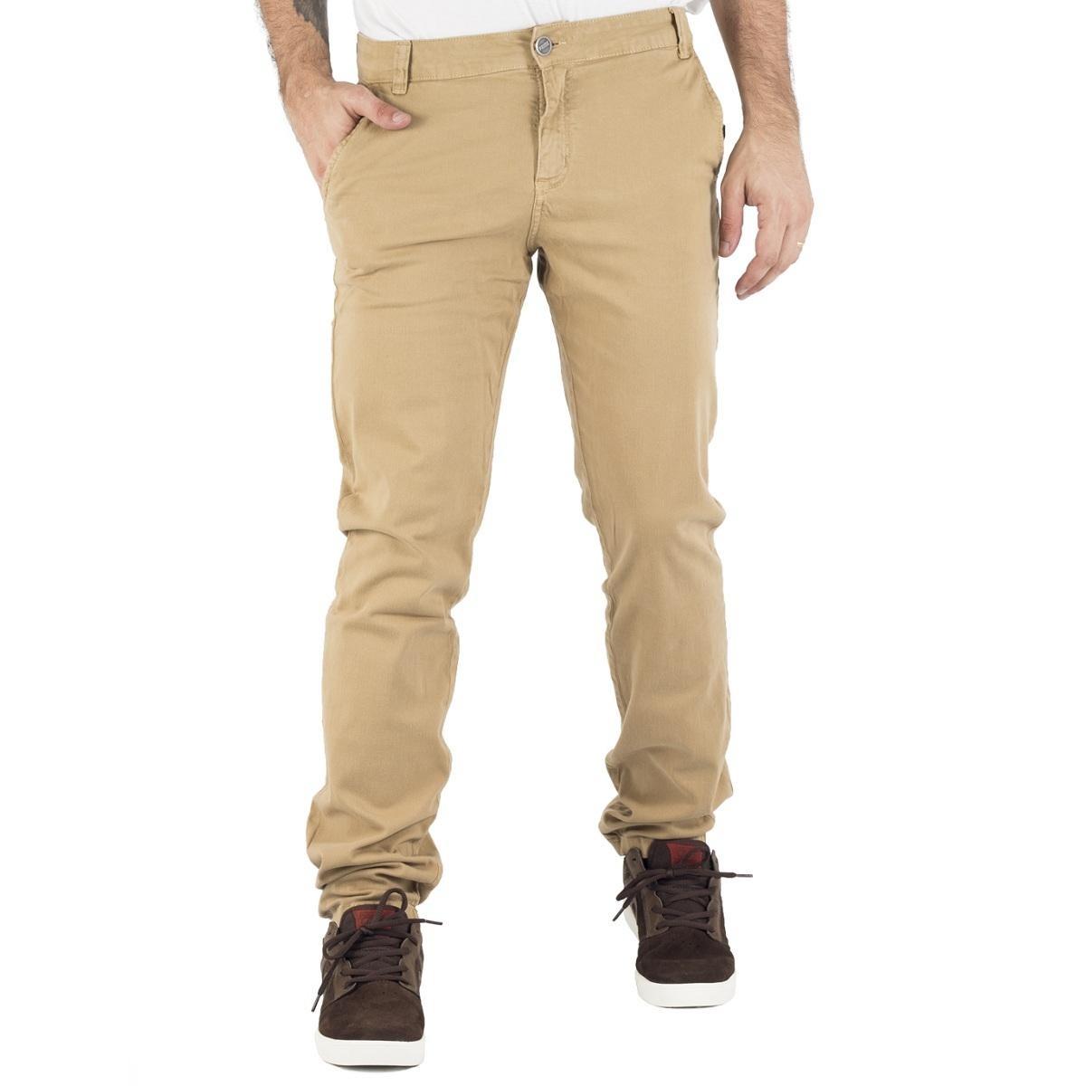 calça prime sarja chino bege. Carregando zoom. b6a791c541c
