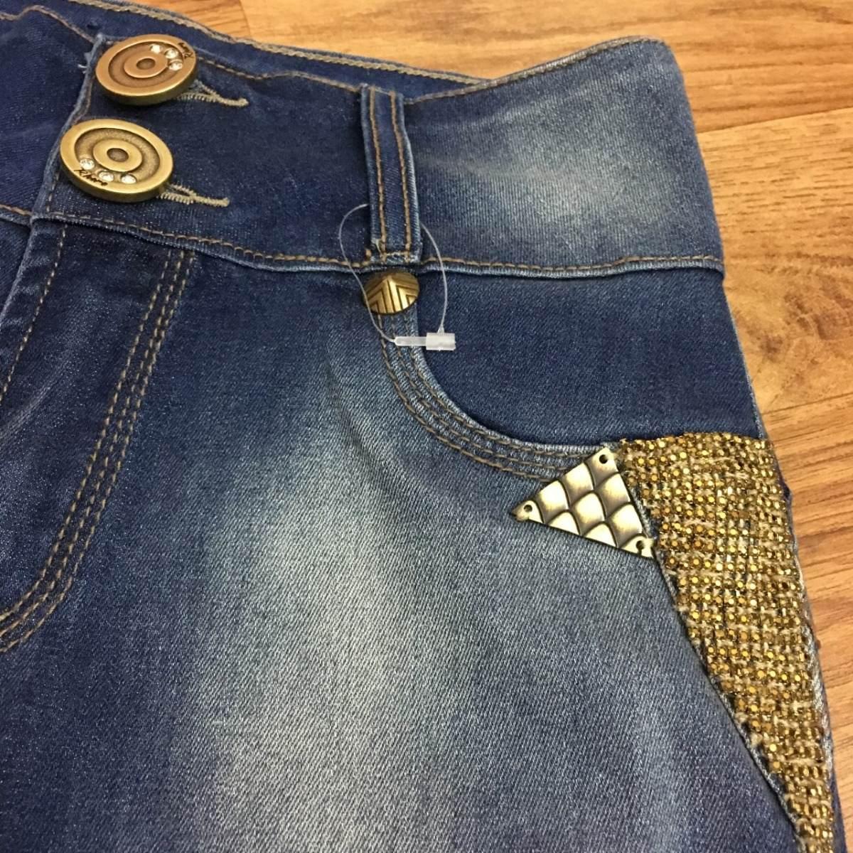 405f31f1a calça rhero jeans promoção bojo strass estilo pitbull lycra. Carregando zoom .