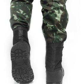 dfdd022e637e2 Calca Tatica Rip Stop Preta Coturno Militar Ziper Couro - Calçados, Roupas  e Bolsas com o Melhores Preços no Mercado Livre Brasil