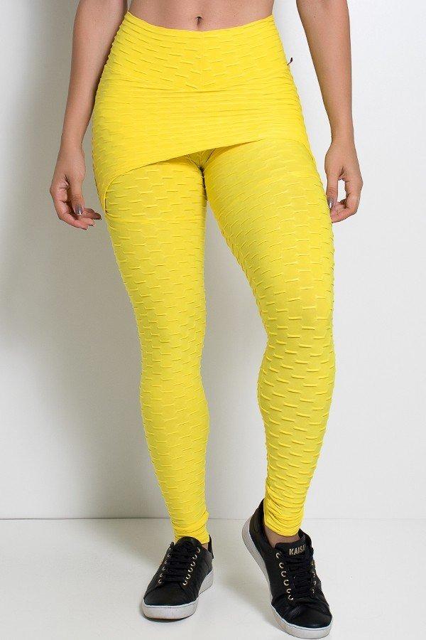 51c55ae63 Calça saia tecido bolha amarelo ref jpg 600x900 Tecido bolha