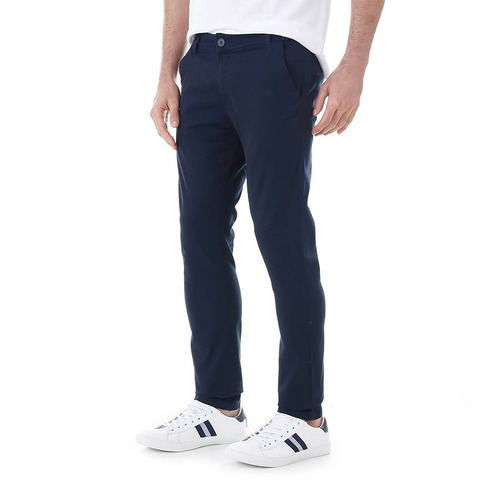 calça sarja masculina drover - marinho