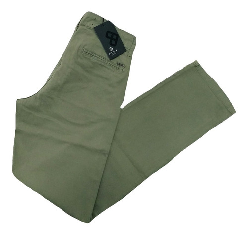 calça sarja masculina pitt esporte fino tam: 38 ao 52