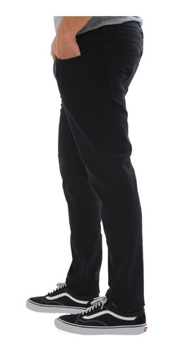 calça sarja preta skinny masculina promoção top