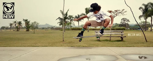 calça sarja skate rock especial new culture +  brinde