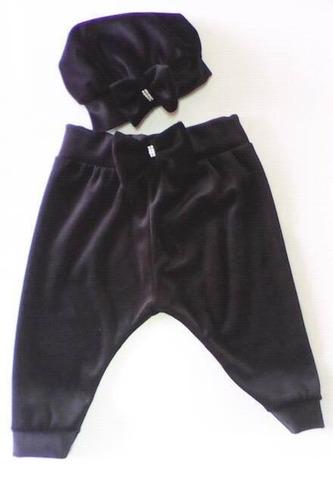 calça saruel com boina -  promoção