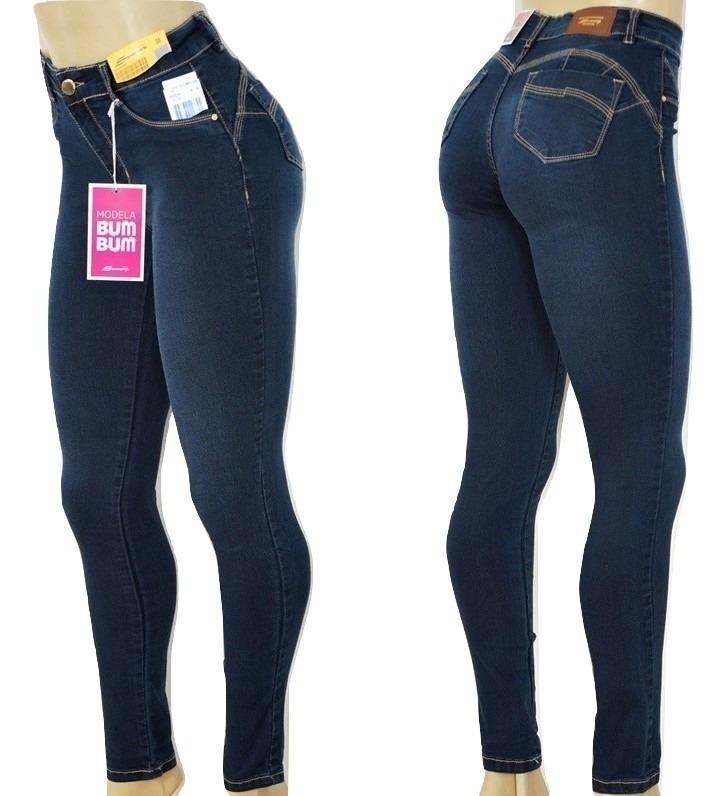 087f0bdca Calça Sawary Jeans Bojo Removível Modela Bumbum - R  120