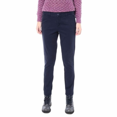 calça skinny. azul marinho benetton - 44