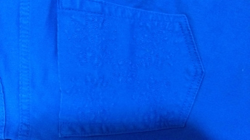 calça skinny jeans feminino azul sarja cintura media pants