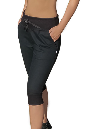calça skinny slim 3/4 bermuda moletom capri saruel sport